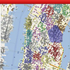 NYC Neighborhoods, Mapped by Social Media