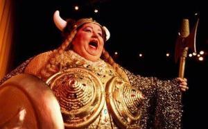 Large Opera Singer