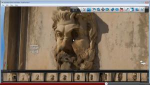 screenshot from Autodesk's 123d catch software