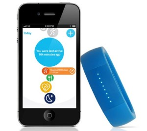 Smartphone app and tracking bracelet
