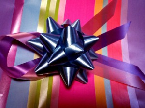 Gift with a bow