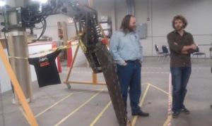 Giant robot leg