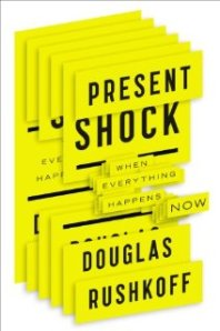 "Cover of the book ""Present Shock"""